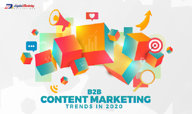 B2B Content Marketing Trends in 2020 #infographic