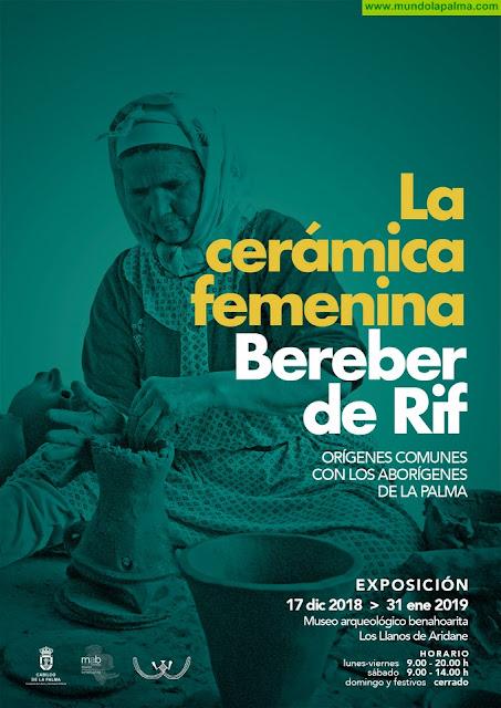 El Museo Arqueológico acoge una muestra que relaciona los orígenes comunes de la cerámica bereber del Rif y la benahoarita