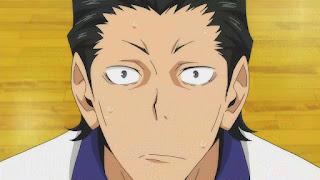 ハイキュー!! アニメ 2期12話   HAIKYU!!  Ohgiminami high vs Karasuno