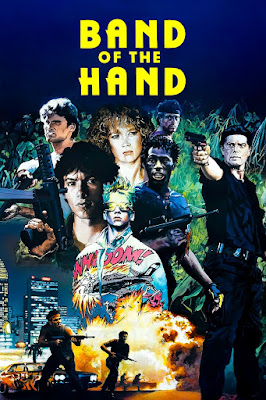 Band of the Hand Poster