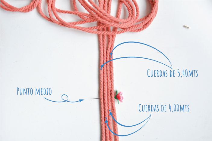 Cuerda macrame para Asas