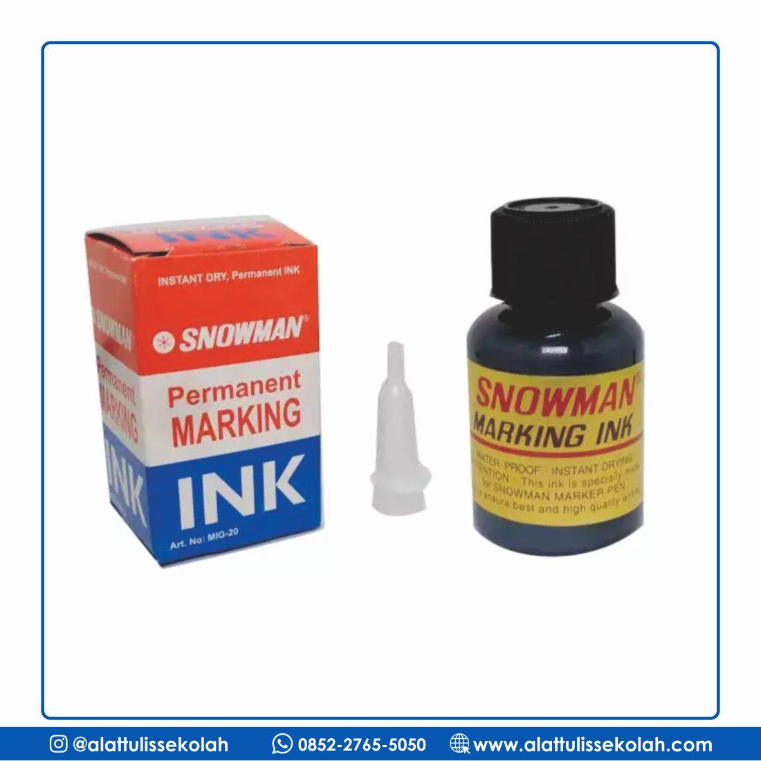 [Permanent Marking] Tinta Spidol Permanen Hitam
