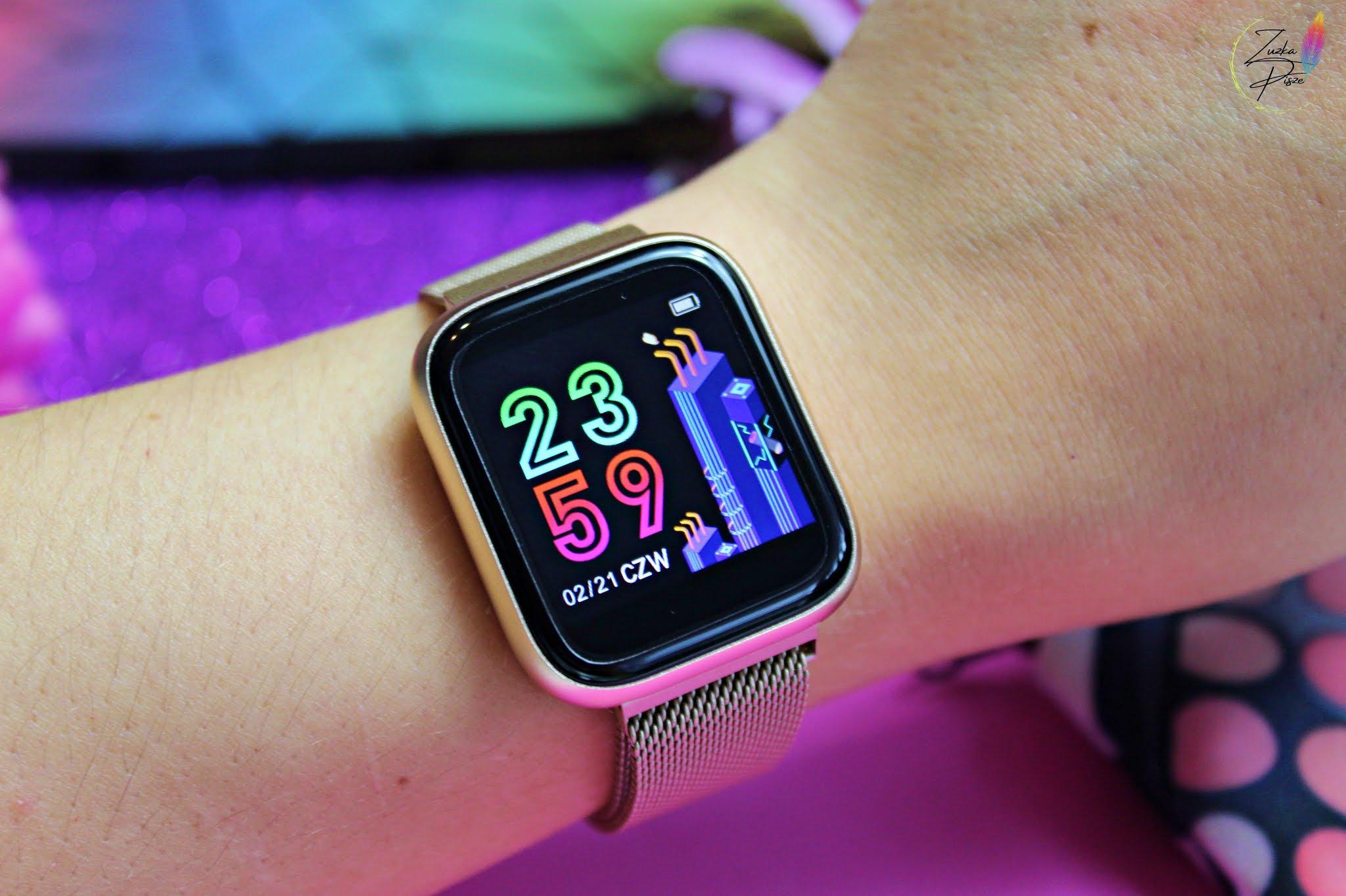 Smartwatch Garett Women EVA złoty, stalowy - recenzja