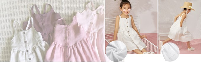 12 year old dresses online   Arshiner Girl's Summer Sundress Spaghetti Strap Button Down Midi Dress with Pockets