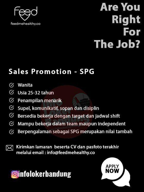 Lowongan Kerja Feedmehealthy Co Bandung September 2019