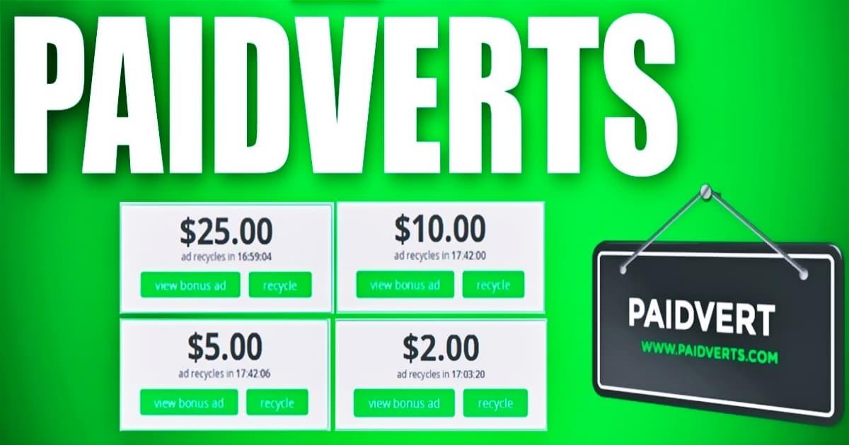 موقع paidverts