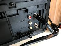 RCA output on the DVD recorder