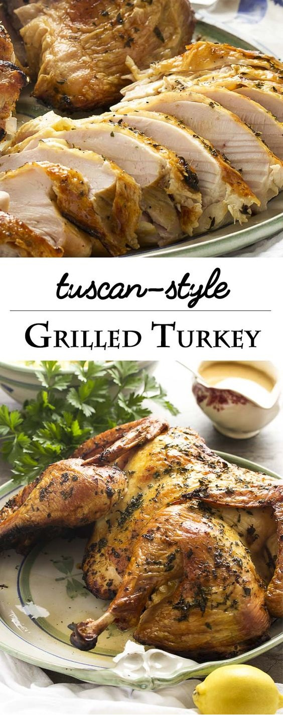 Grilled Tuscan Style Turkey
