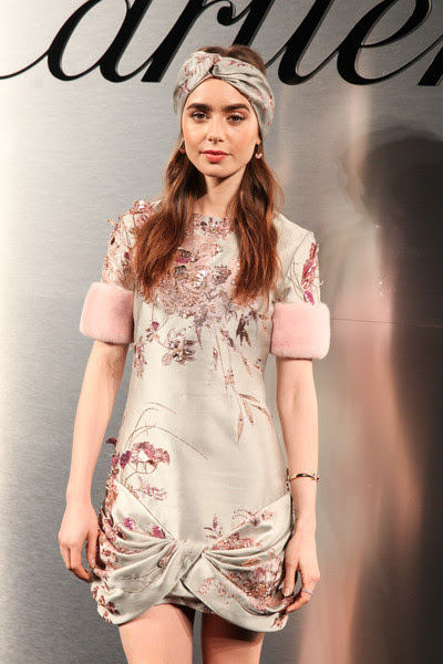 Lily Collins - Cartier's Bold and Fearless Celebration en San Francisco (Abril 5)