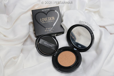 review masami shouko cushion love skin