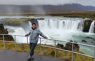 Cascada Godafoss, Islandia, Iceland.
