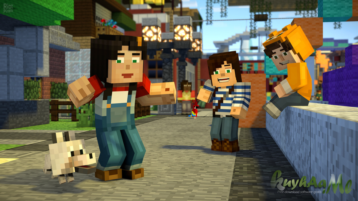Minecraft: Story Mode - Season 2: The Telltale Series All Episodes