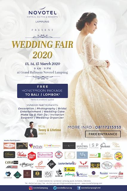 Novotel Lampung Akan Selenggarakan Wedding Fair 2020