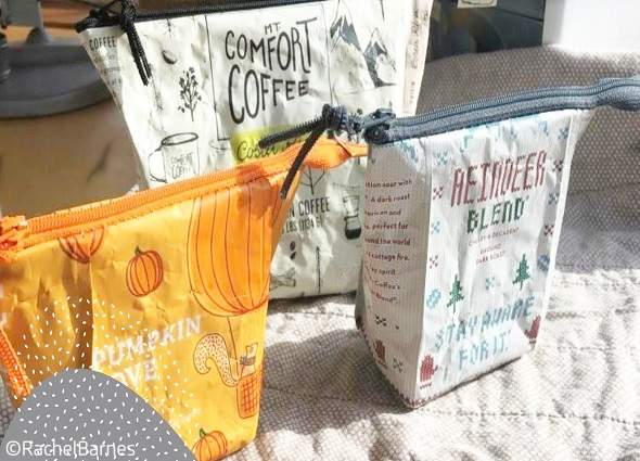 manualidades, bolsas envases café o té, labores