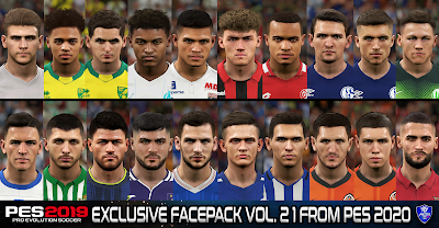 PES 2019 Exclusive Facepack Vol. 21 By Sofyan Andri