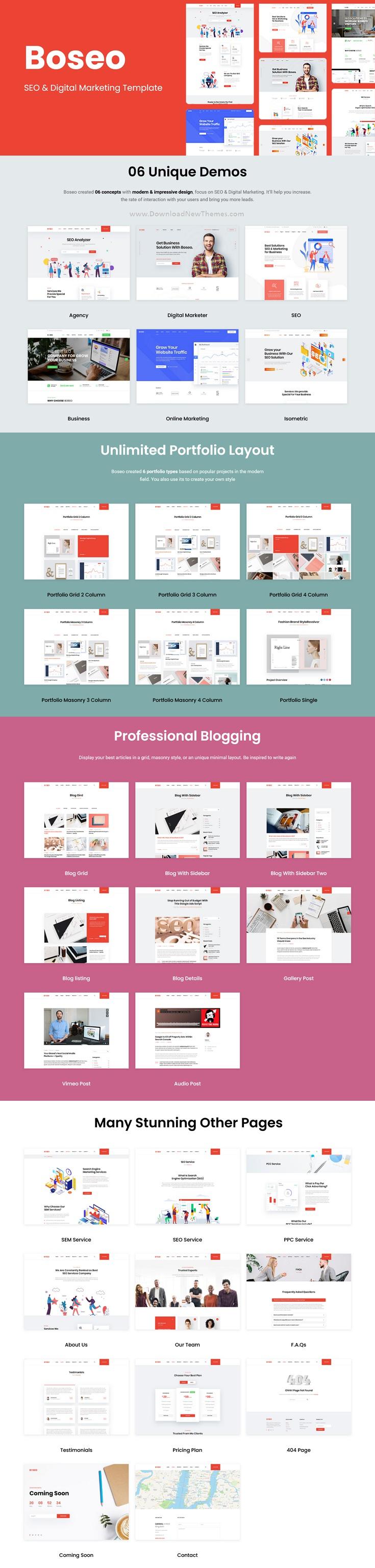 SEO & Digital Marketing HTML Template
