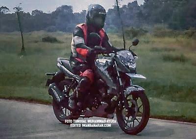 Spyshot terbaru Suzuki Bandit 150