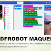 Coding Lessons for Kids Using BBC Microbit Robot Car
