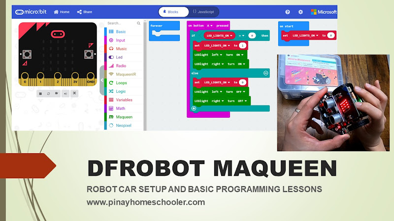 Coding Lessons for Kids Using BBC Microbit Based Robot Car