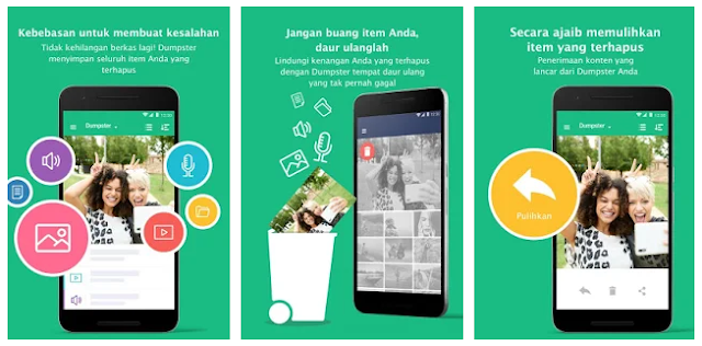 Aplikasi Recycle Bin di Android