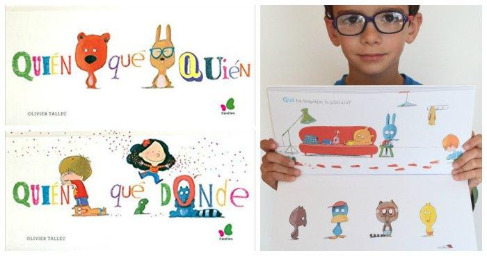 cuentos infantiles libros juego fomentar lectura a partir de jugar oliver tallec