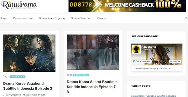 ratudrama situs download drama korea subtitle indonesia