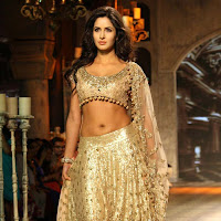 Katrina Kaif Hot Navel Show Photos During Fashion Show
