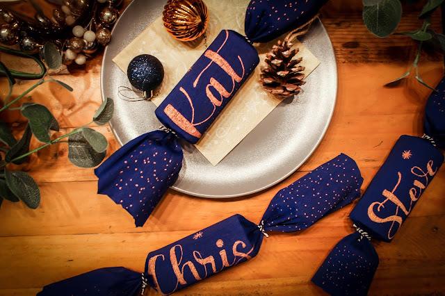 easy diy christmas crackers