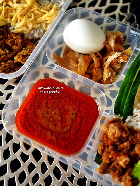 Pork Lard Nasi Lemak With Babi Cili Garam RM 25