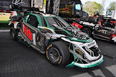Transformers Nascar 1 - Mira estás nuevas imagenes de Transformers en el Daytona 500!