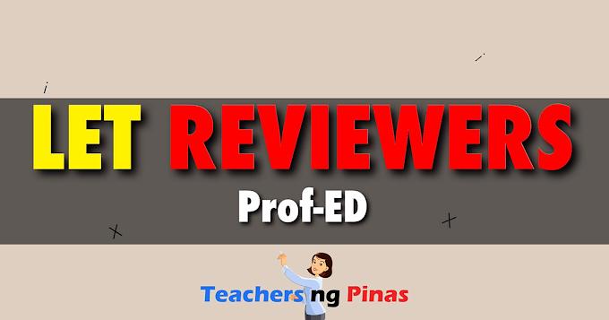 [2015] Prof-ED Questions - Teachers ng Pinas