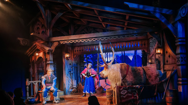 how to see disneyland paris in one day- frozen show