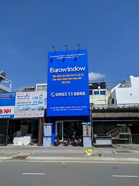 Showroom Euroindow Quận 9