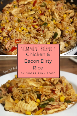 Syn Free Chicken & Bacon Dirty Rice Recipe slimming world