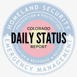 logo for the Colorado Daily Status Report