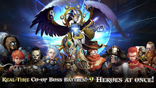 Heroes of Skyrealm RPG Mod Apk v1.4.0 For Android
