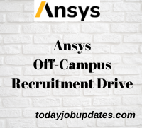 ANSYS Software Off-Campus Recruitment Drive