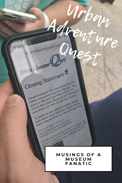 Urban Adventure Quest by Musings of a Museum Fanatic