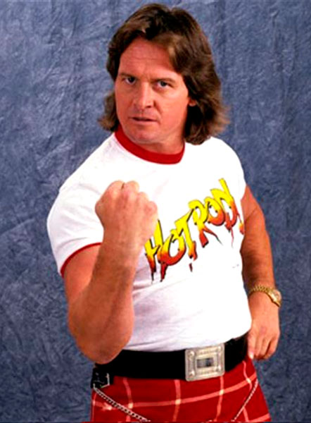 Pressing Catch WWF - Roddy Piper