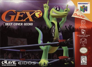 Gex 3: Deep Cover Gecko ( BR ) [ N64 ]