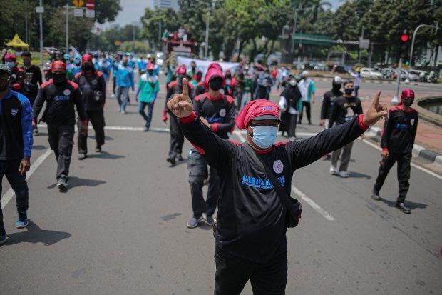 May Day 2021, 50 Ribu Buruh KSPI Siap Turun Aksi, Sebagiannya di Depan Istana Merdeka
