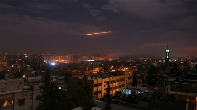 Syria's air defense systems confront Israeli attacks: State media