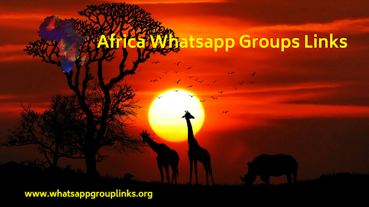 Join Africa Whatsapp Groups Links List