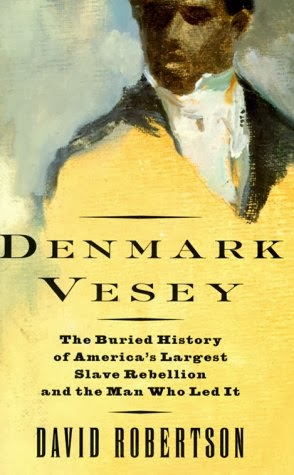 Denmark Vesey book jacket art by Michael Perelman