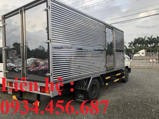 Xe thùng kín Hyundai 110sp