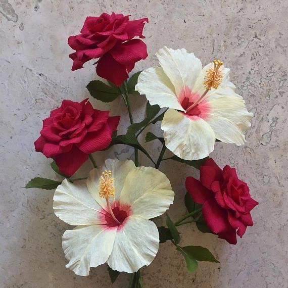 Como Fazer Flores De Papel Crepom Passo A Passo Como Fazer