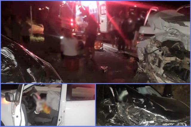 Batida entre caminhonetes deixa nove feridos na BA-262, no Sudoeste da Bahia