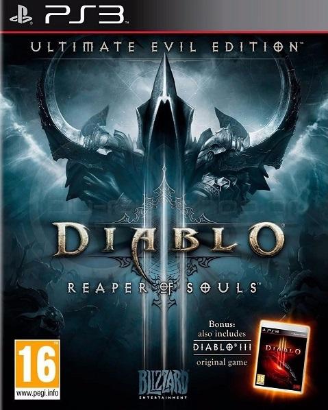 Diablo 3 Reaper of Souls Ultimate Evil Edition PS3 ISO