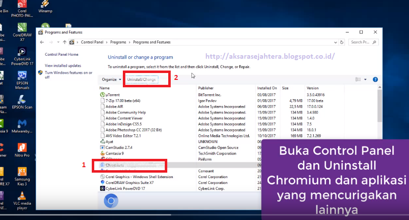 Cara Termudah Remove/Uninstall Chromium di Windows 10 working 100 ...