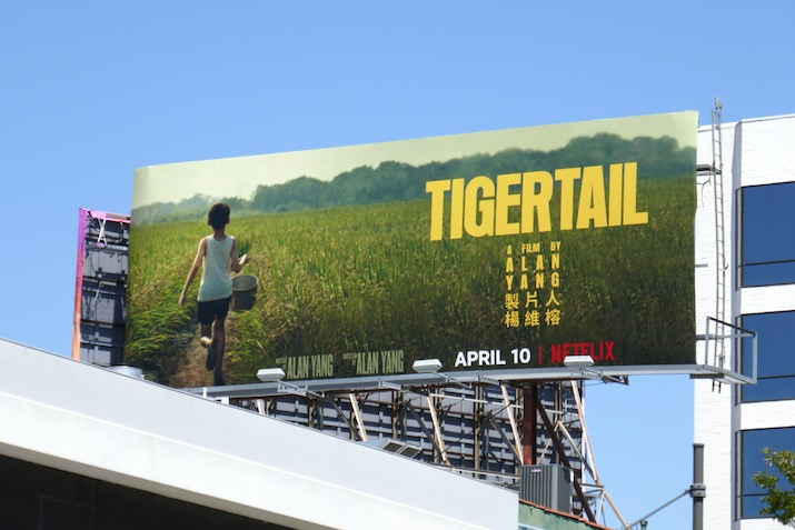 Tigertail Netflix billboard